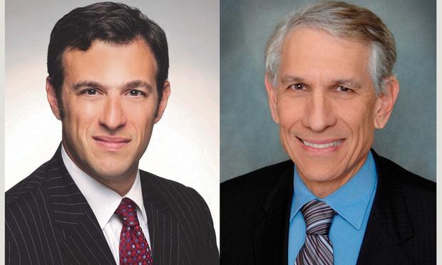 David Shapiro and Ronald R. Fieldstone of  Saul Ewing Arnstein & Lehr.