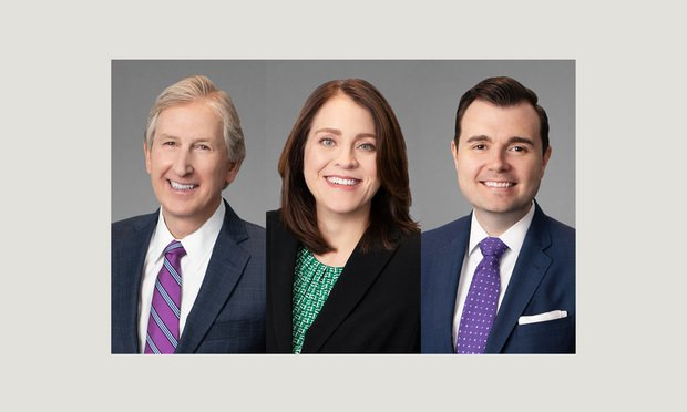 Lawrence Ingram, Partner, Jessica Alley, Partner, and Hoyt Prindle, Attorney, all with Freeborn & Peters, Tampa