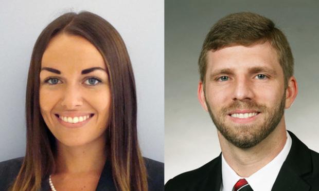 Olivia Kelman and Joshua Carpenter, K&L Gates