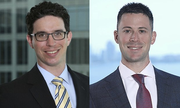 Mitchell Goldberg, partner with Berger Singerman in Fort Lauderdale, left, and Bryan Appel, associate with Berger Singerman in Fort Lauderdale, right.
