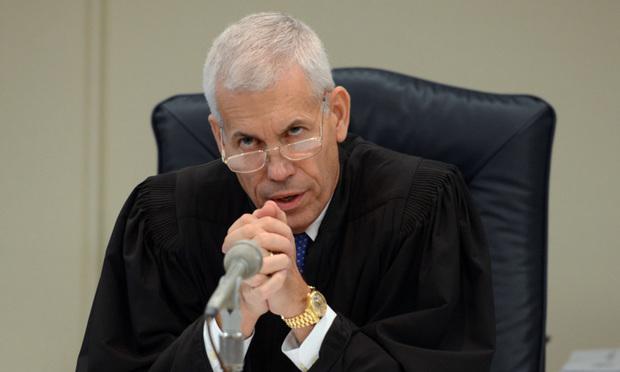 Broward Circuit Judge William Haury. Photo:Melanie Bell/ALM.