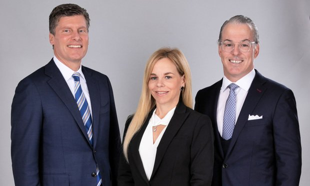 Heise Suarez Melville founders Mark Heise, Luiz Suarez and Patricia Melville