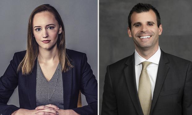 Catherine Darlson(left) of Kelley Uustal and Eric S. Rosen (right) of Rosen Injury Law. Courtesy photos.