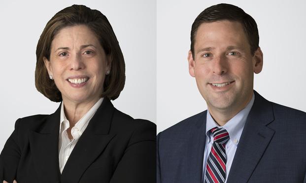 Alaine Greenberg and Brian Koch.