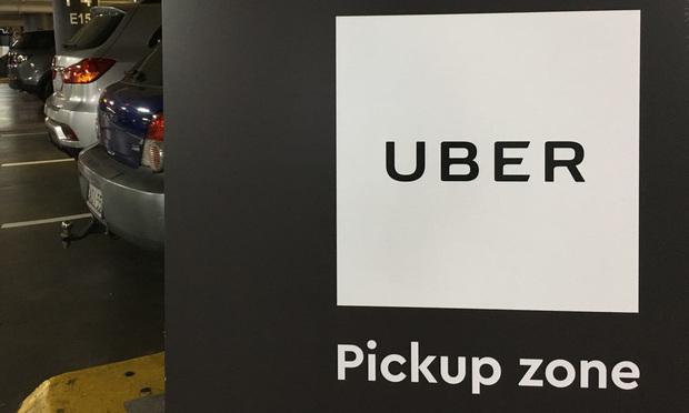Uber pickup zone. Photo: ChameleonsEye/Shutterstock.com.