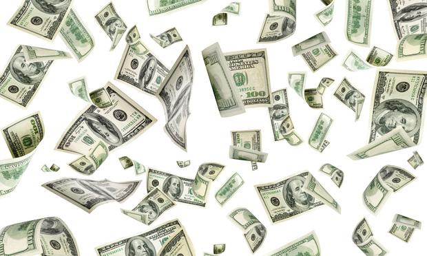 Money rain. Photo: MVelishchuk/Shutterstock.com.