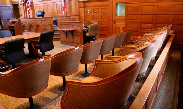 Empty courtroom. Photo: Frances Twitty/iStockphoto.com.