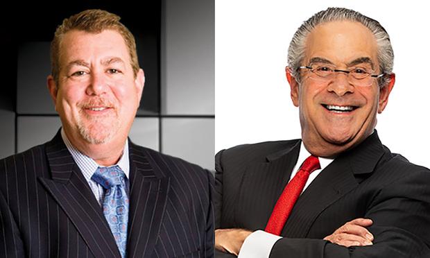 Plaintiffs' lawyers Steve Silverman, left, and Alan Kluger, right, of Kluger Kaplan. Courtesy photos.