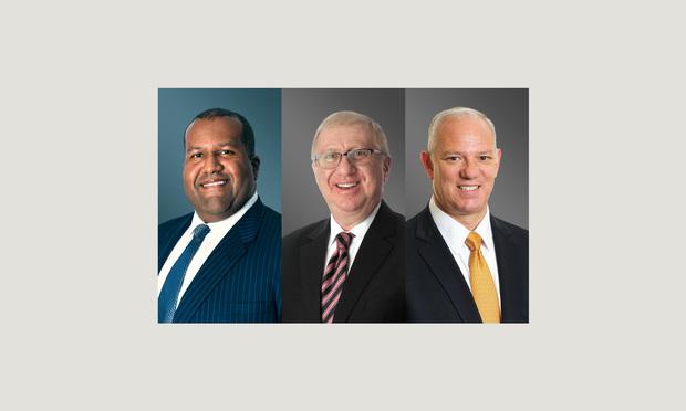 Jaret L. Davis, Alan N. Sutin and Bryan X. Grimaldi, Greenberg Taurig.