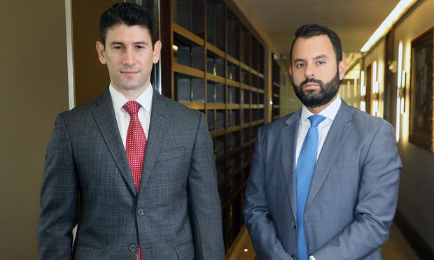 Marc P. Kunen and Jose L. Becerra, The Ferraro Law Firm. Photo: J. Albert Diaz/ALM.