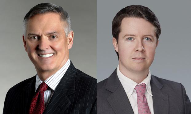 Samuel L. Felker, left, and Matthew Mulqueen, right.