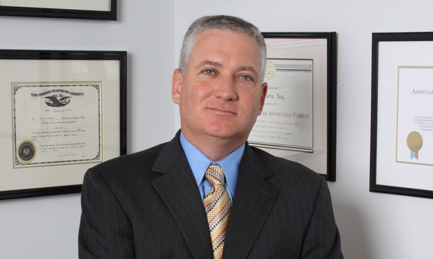 Jack Paris, with the The Cochran Firm in Miami.