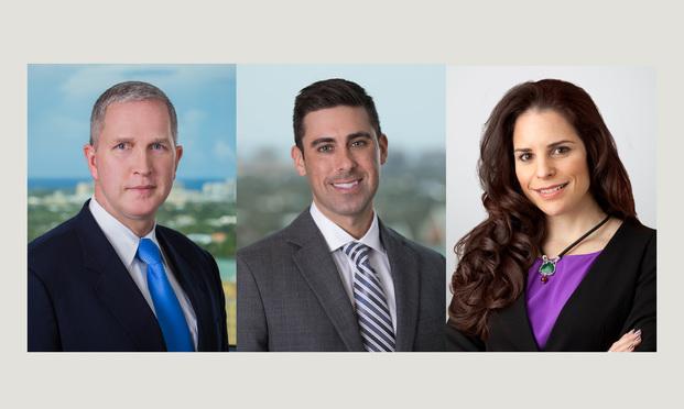 Edward J. O'Sheehan, Josh A. Rubin and Annie Gamez.
