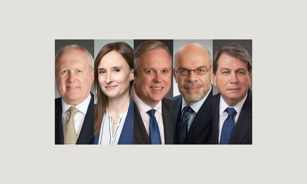 Mark Schnapp, Elizabeth Cappiello, Michael Clark, Aldo Leiva and Joe Whitley, Baker Donelson