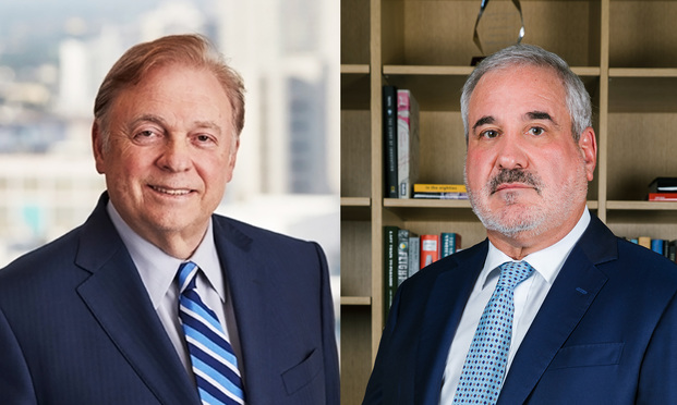 Stephen N. Zack of Boies Schiller Flexner, and Steven C. Marks of Podhurst Orseck. Courtesy photos.