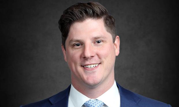 Aaron Garnett, attorney with Morgan & Morgan's Business Trial Group in Orlando.