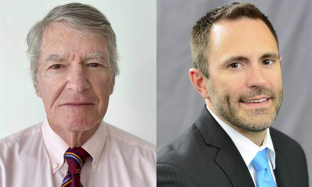 John Elson, left, and Jeffrey M. Hearne, right.