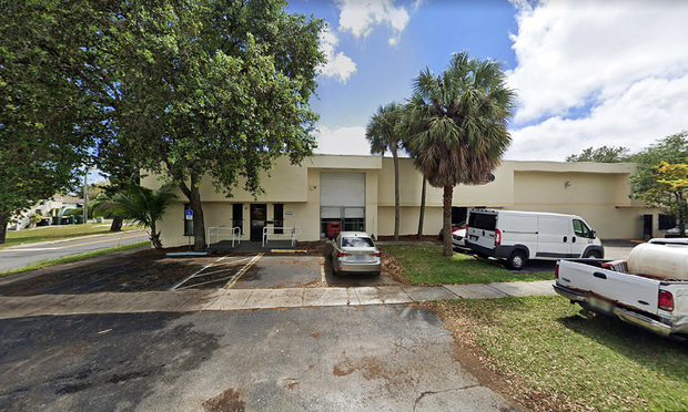 501 Old Griffin Road in Dania Beach.