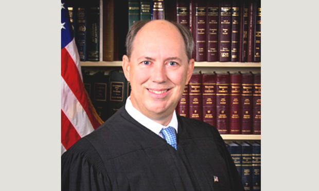 Judge Mark W. Klingensmith of Fourth District Court Of Appeal. Courtesy photo.