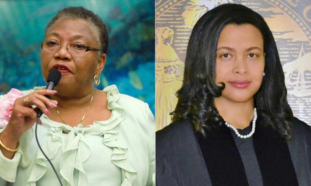 Florida State Rep. Geraldine F. Thompson and Judge Renatha Francis