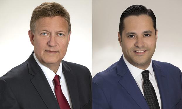 Walter Latimer, left, and Bruno Renda, right, Shareholders with Fowler White Burnett.