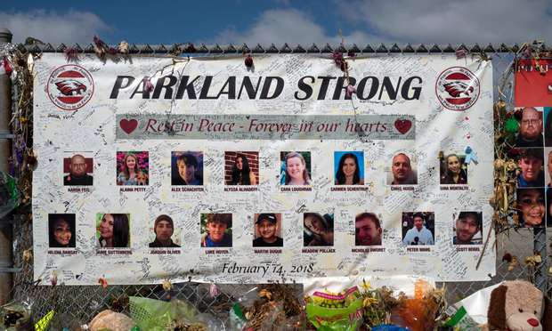 Parkland, Florida/United States - March 27 2018: A mass shooting in Marjory Stoneman Douglas High School has led to outpouring of grief as well as student led protest for gun control.. Photo: Janos Rautonen/Shutterstock.com