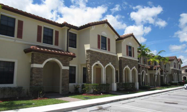 Martinique at the Isles of the Oasis, Lennar Homes built condos in Homestead, FL. (Photo: Courtesy Photo)
