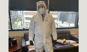 'I Don't Blame You Man': South Florida Lawyer Turns Heads by Wearing Full Hazmat Suit to Federal Court