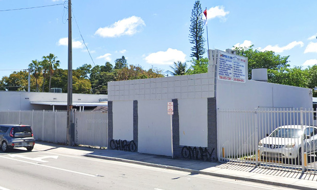 1010, 1020 and 1022 NW 36th St. in Miami. Photo: Google