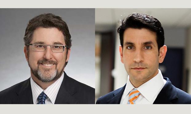 Jeffrey R. Sonn,left, of Sonn Law Group and James D. Sallah,right, of Sallah Astarita & Cox. Courtesy photos.