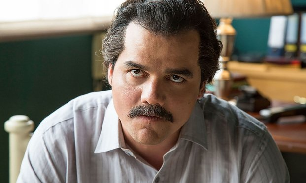 Wagner Moura as Pablo Escobar in the Netflix series Narcos. Photo: Daniel Daza/Netflix