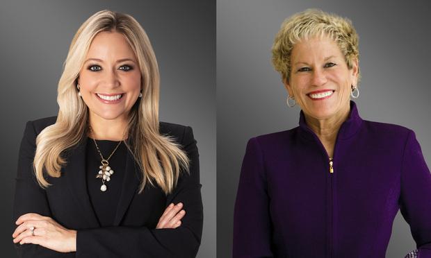 Alexandra Bach Lagos and Lori Cohen