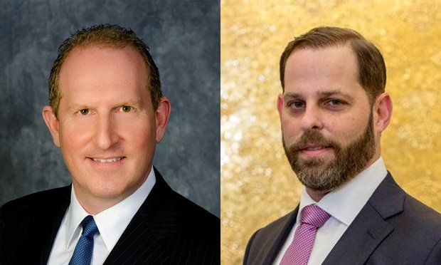 (L to R) Brian H. Bieber, GrayRobinson shareholder and Michael Nadler, Stumphauzer Foslid Sloman Ross & Kolaya. (Photos: Courtesy Photo)