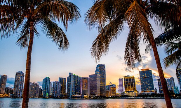 Forget New York. It's all about Miami, according to these investment and technology firms. Credit: littlenySTOCK/Shutterstock.com