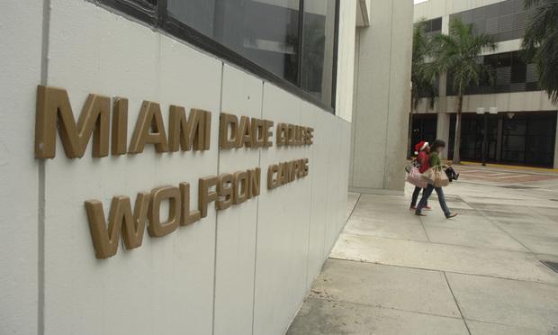 Wolfson campus in Miami Dade College.