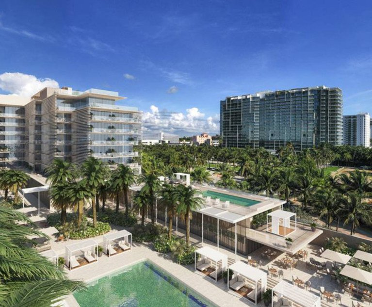 law.com - Melea VanOstrand - A Good Place to Put Some Money': Why Investors Are Eyeing South Florida's Recovering Hospitality Sector   Daily Business Review