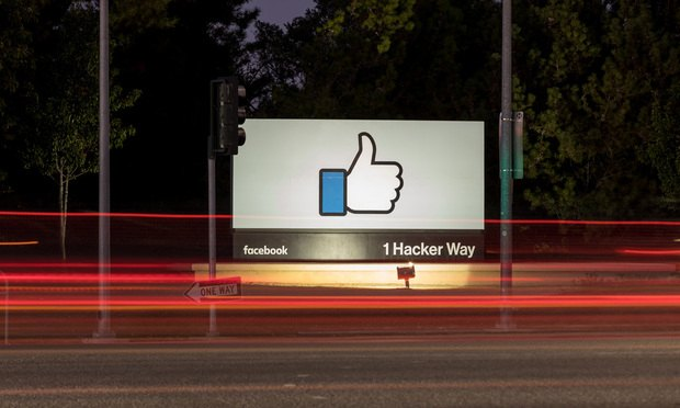 Facebook headquarters.