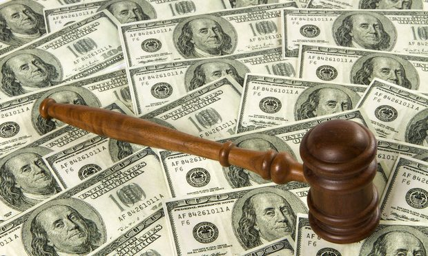 Money-Gavel cash, verdict