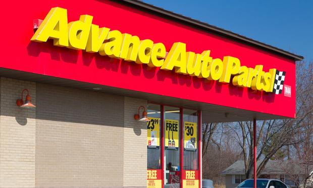 Advance Auto Parts store.