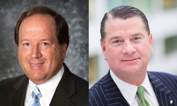 (L to R) Thomas Wilkinson and William Gericke of Cozen O'Connor (Photo: Courtesy Photo)