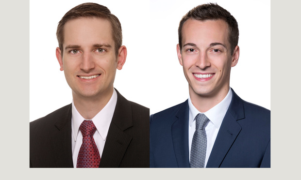 From left: Nathaniel J. Stuhlmiller and Taylor D. Anderson of Richards Layton & Finger.