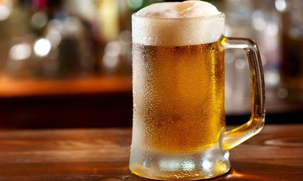 Cold mug of beer. Oktoberfest