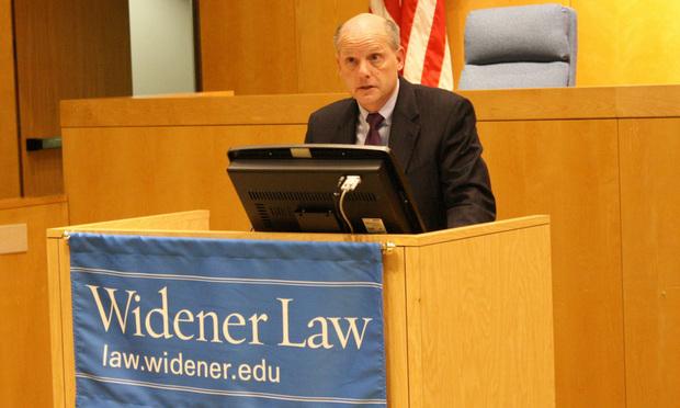 Former Delaware Chief Justice Leo E. Strine.