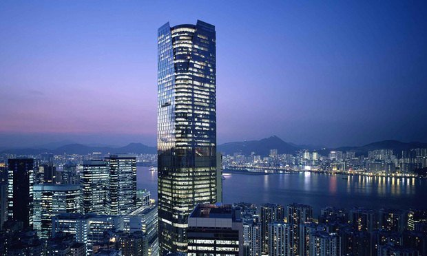Hong Kong's One Island East building, located outside of the traditional business district, is attracting law firms and their clients.