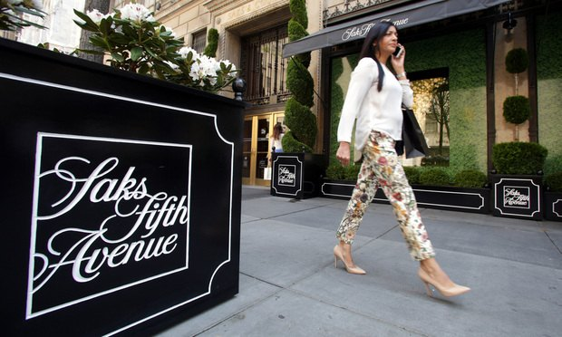 Saks Fifth Avenue in Manhattan
