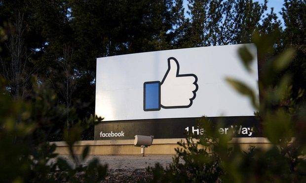 Facebook headquarters in Menlo Park, California. Photo by David Paul
