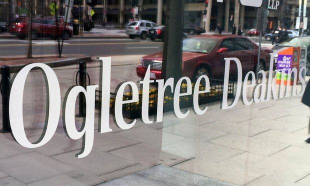 Ogletree Deakins offices, Washington, D.C. (Photo: Diego M. Radzinschi/ALM)