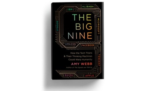 Book cover for The Big Nine by Amy Webb