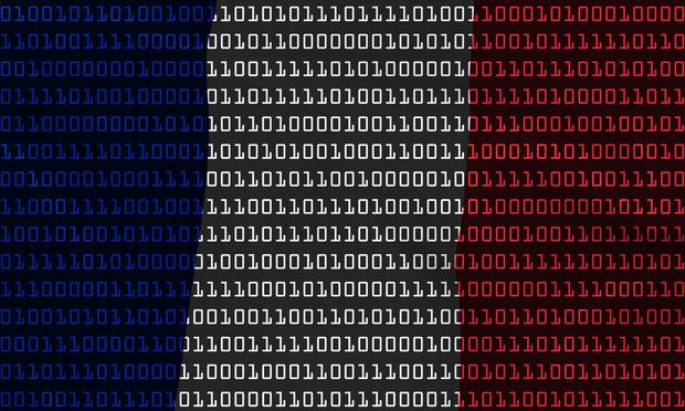 French Flag Binary Code