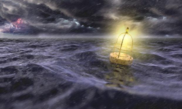Buoy In Sea